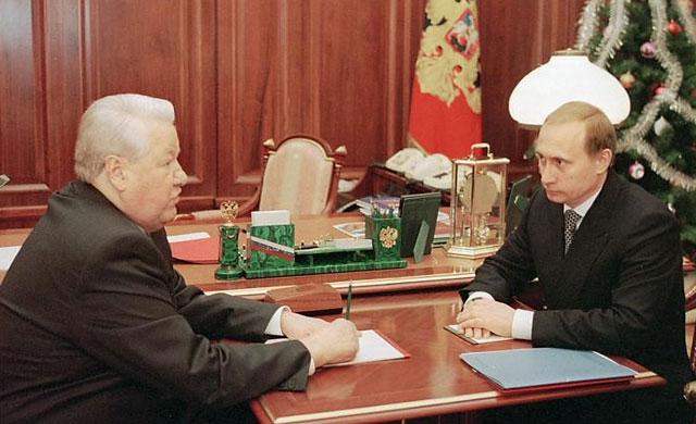 Путин и Ельцин